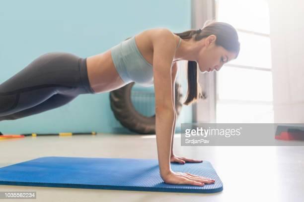 Arbeiten hart für den starken Körper