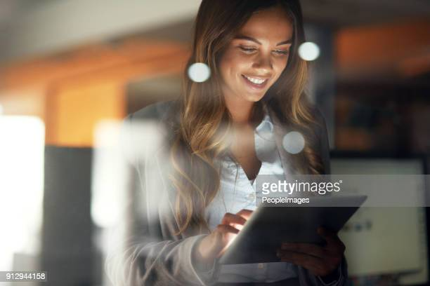 working hard no matter the time - using computer stock photos and pictures