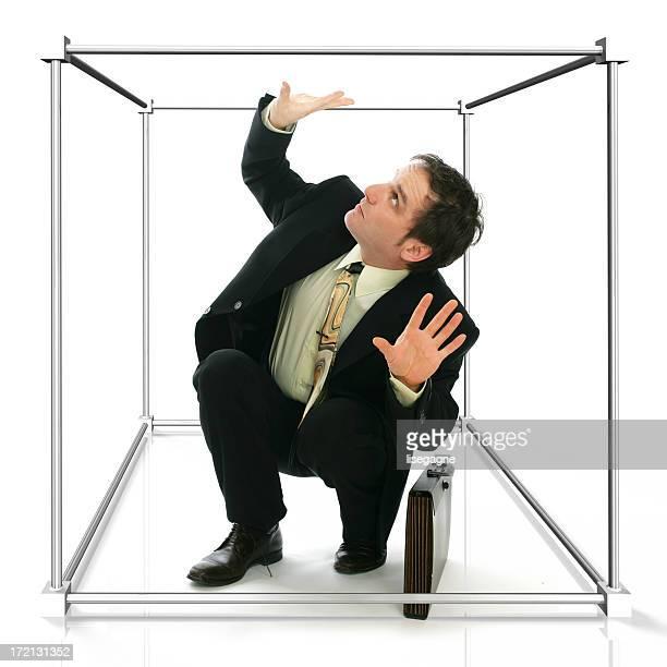 Working in a cubicule