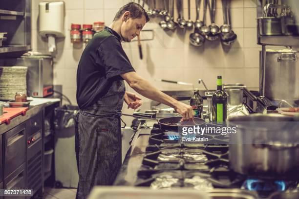 Working in an italian restaurant