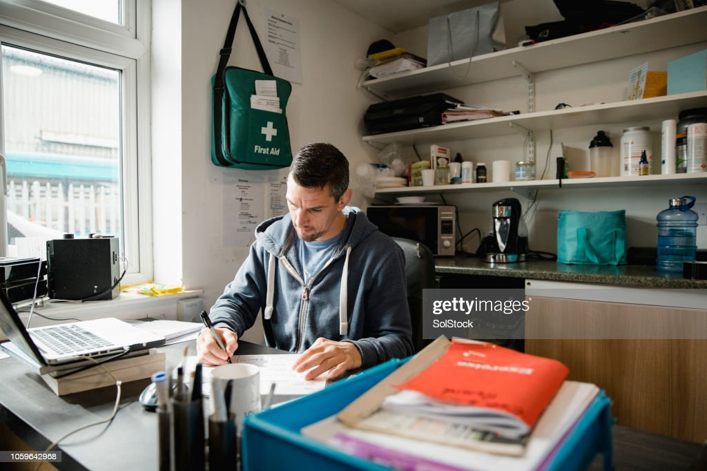 Working in the Office : Stock Photo