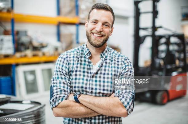 working in warehouse - eastern european stock pictures, royalty-free photos & images