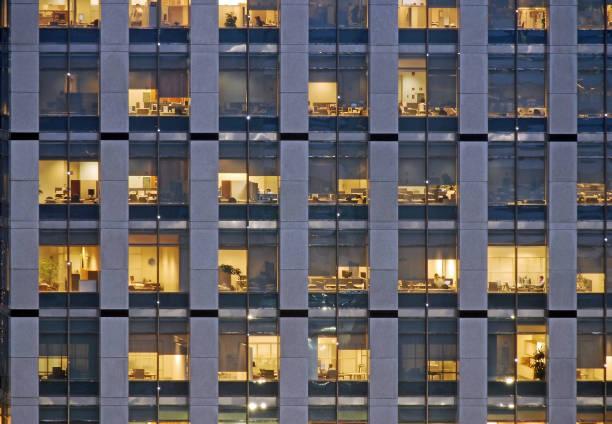 Working late - Sao Paulo corporate district