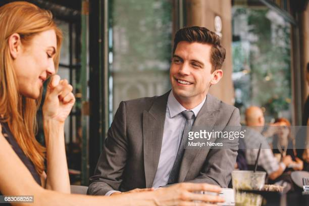 working lunch break - work romance stock pictures, royalty-free photos & images