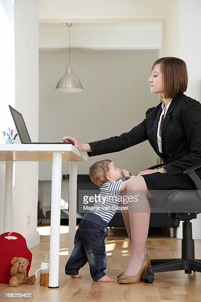 Working Mom at Home, trying to work