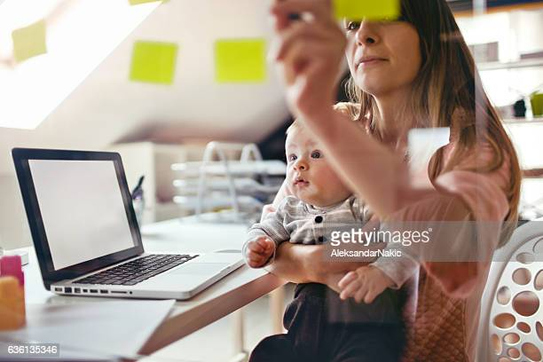 working mom - multi tasking stock pictures, royalty-free photos & images