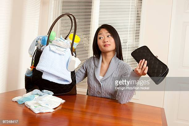 working mother - super mom stock photos and pictures