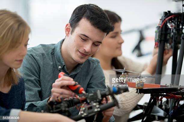 Arbeiten mit dem Roboter Projekt