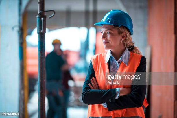 working on construction site - satisfaction stock pictures, royalty-free photos & images