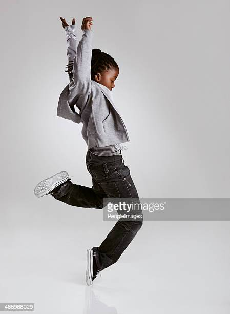 working on his hip hop routine - dancing stock photos and pictures