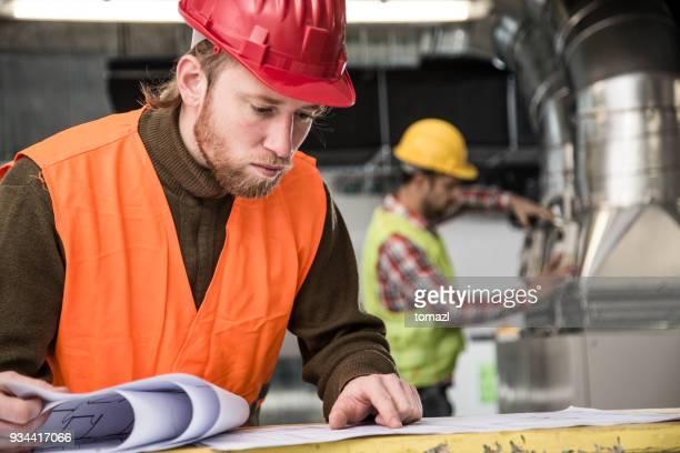 Werken op HVAC-systeem