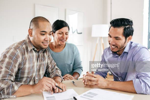 Arbeiten auf Hypothekenzinsen