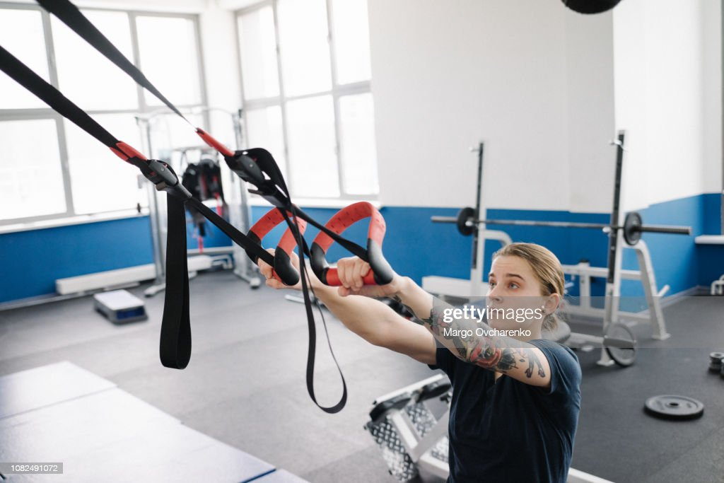 Working out : Stock-Foto