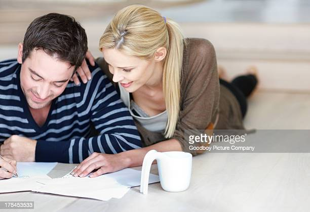 Working out the finances to furnish our home