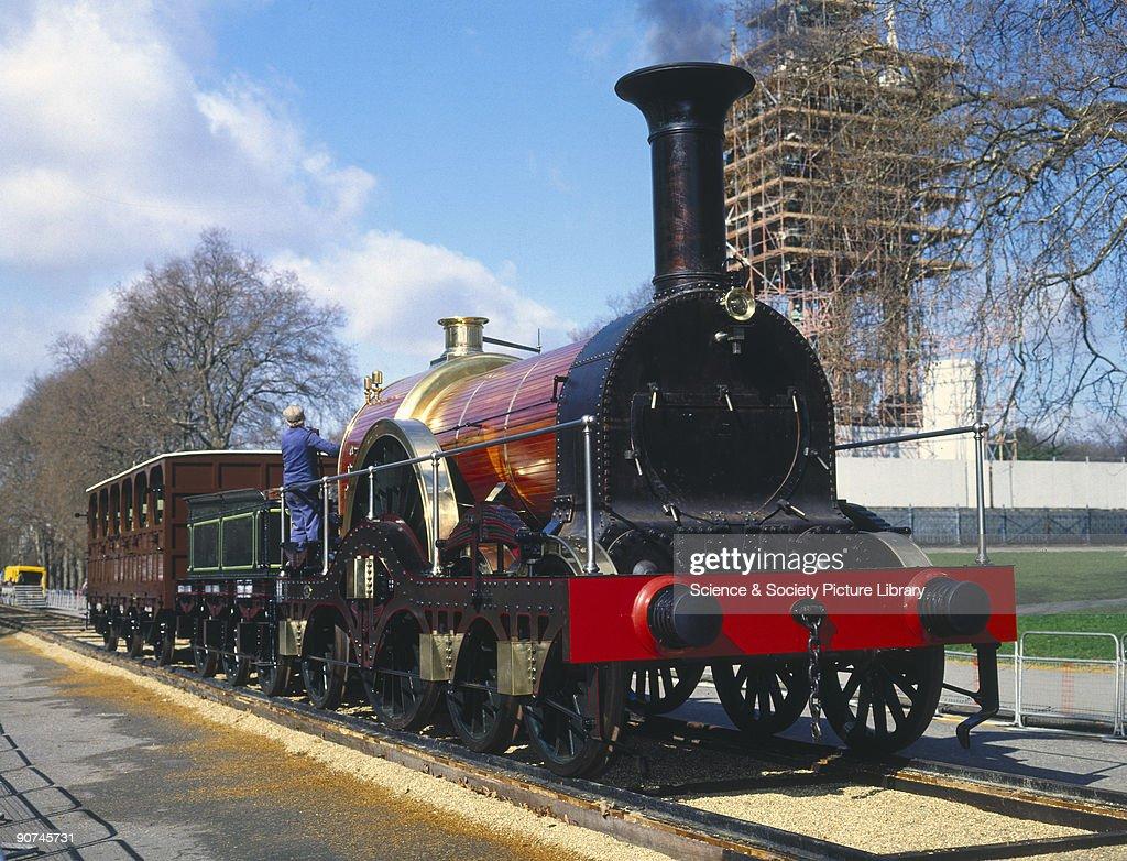 Iron Duke 4-2-2 locomotive, 1851. : News Photo