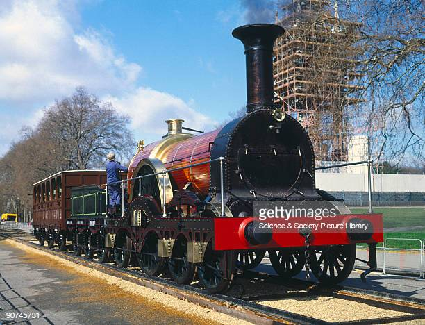 Working replica made by Resco Railways Ltd 19831985 shown in Kensington Gardens London The locomotive represented by this replica was designed by Sir...