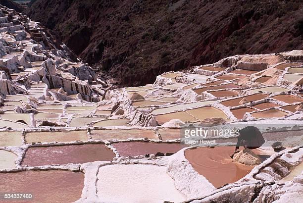 Working Salt Pans of Maras