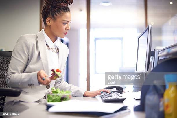 working through lunch - lunch stock pictures, royalty-free photos & images