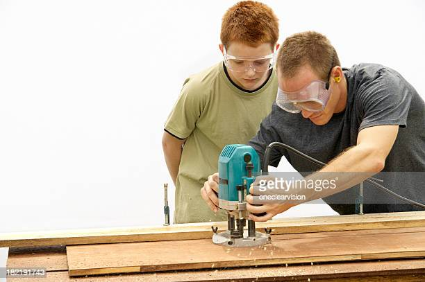 working together - uncle stock photos and pictures