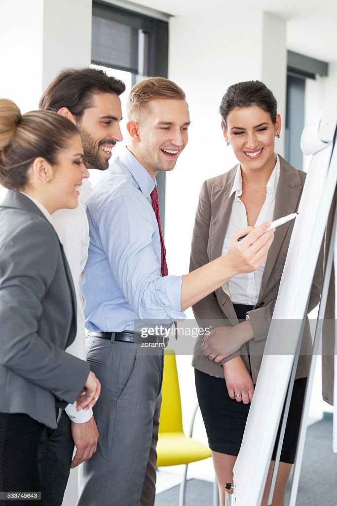 Lavorare insieme : Foto stock