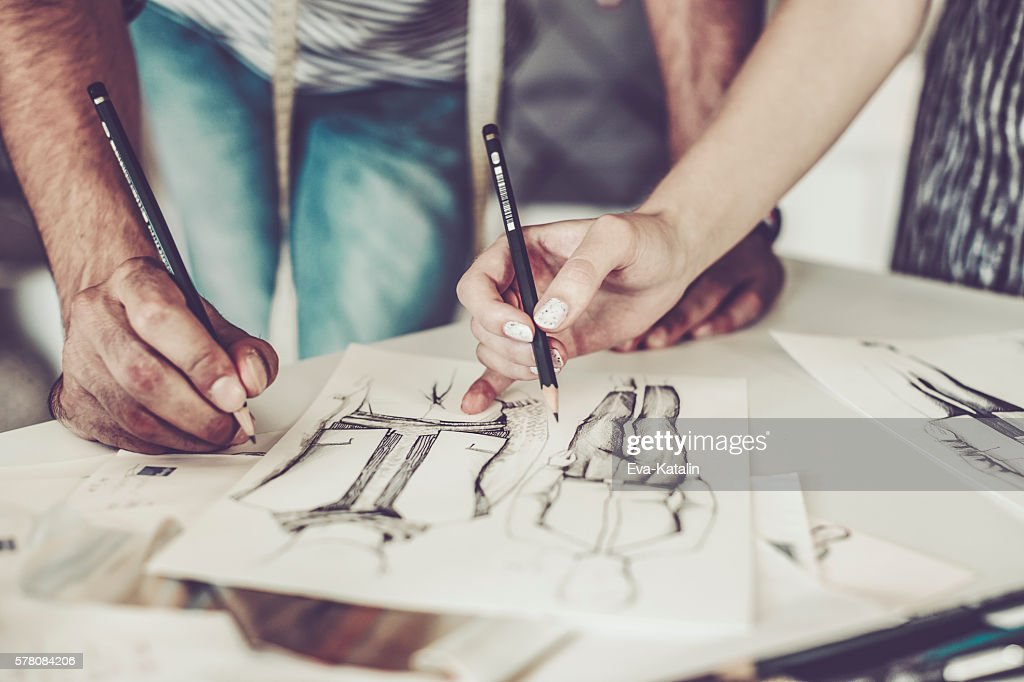 Working together : Stock Photo