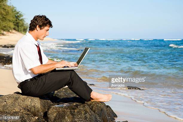 working vacation - 2000s style stock pictures, royalty-free photos & images