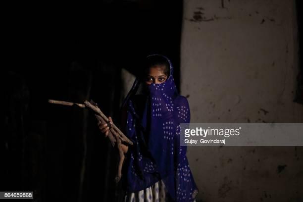 Working Village Woman