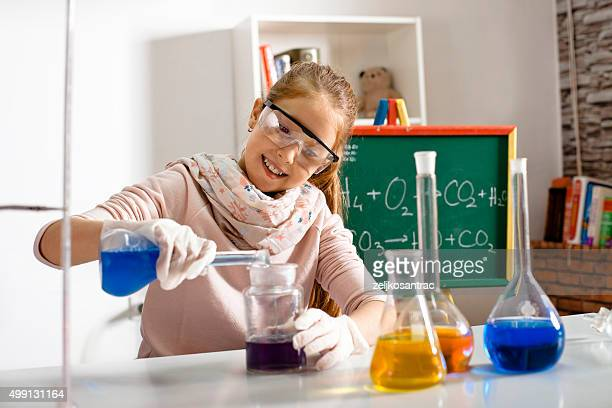 Working with chemical reagents