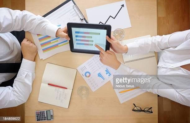 Arbeiten mit digitalen tablet