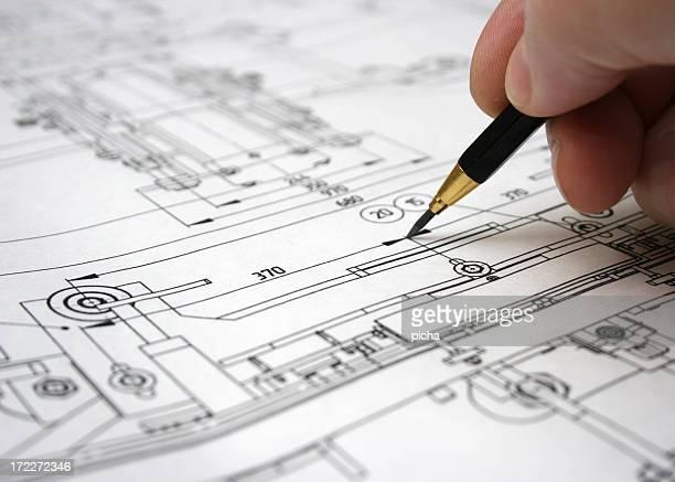 Zusammenarbeit mit Zeichnung