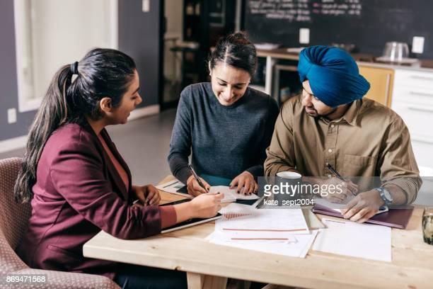 Arbeiten mit Finanzberater