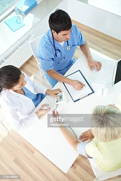 Arbeiten mit Patienten
