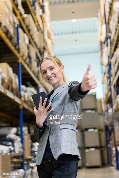 Travailler avec succès dans un entrepôt