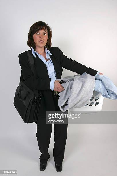 working woman - super mom stock photos and pictures