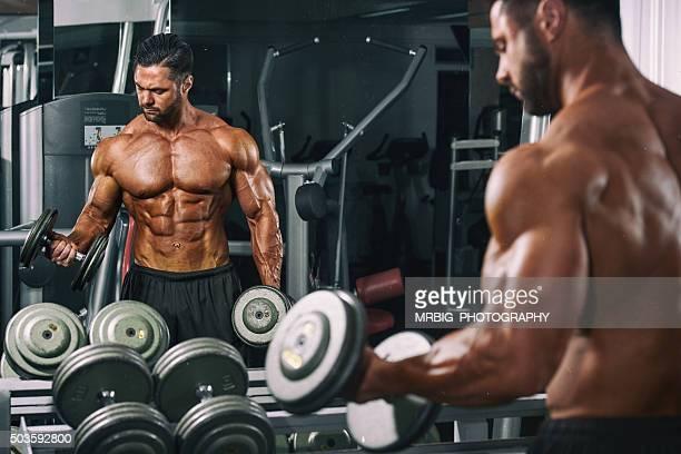 Training im Fitnessraum