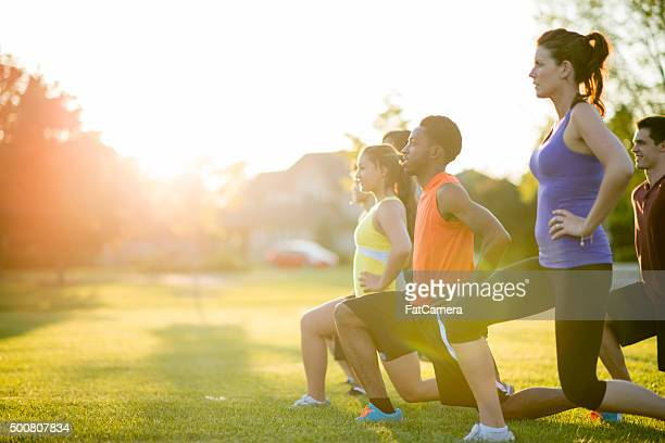 workout class - man made object stock pictures, royalty-free photos & images