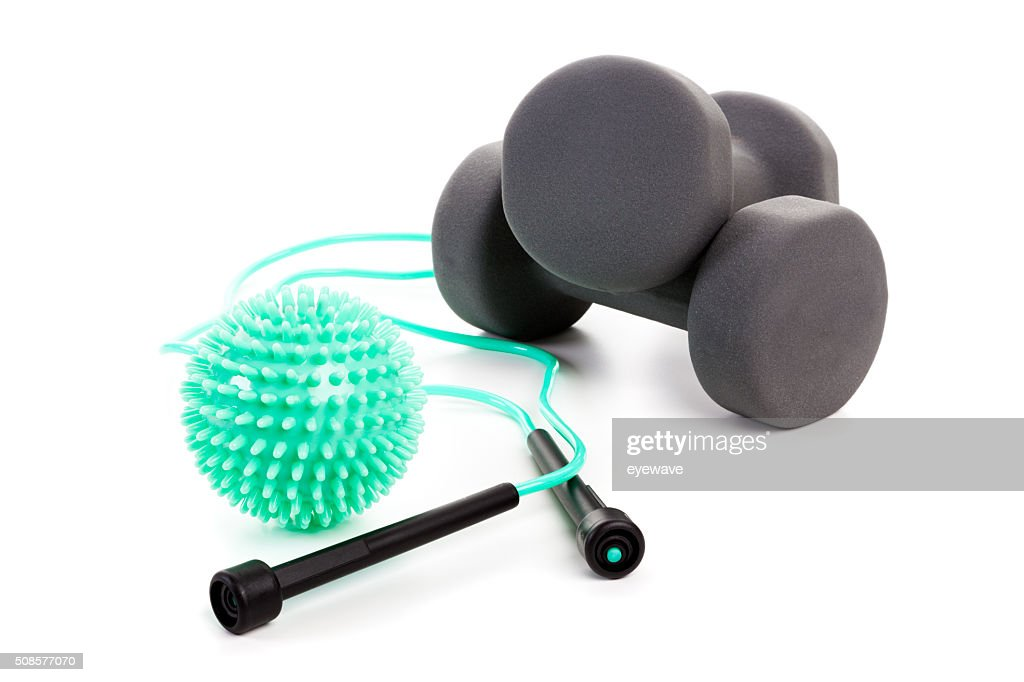 Workout Equipment isolated : Stock Photo