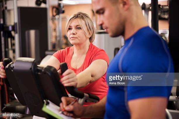Workout with personal trainer. Debica, Poland