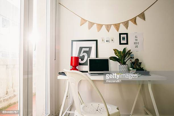 Workplace at home office