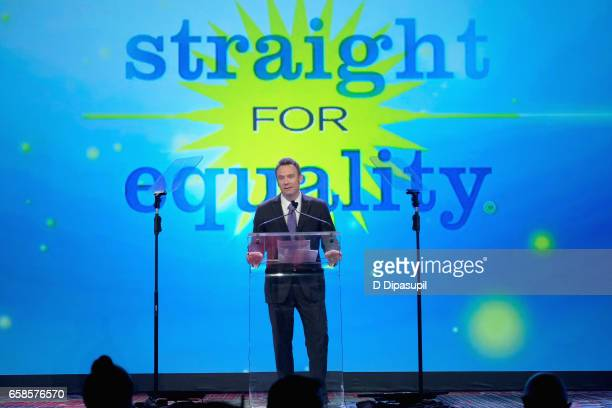 Workplace honoree, Roy Harvey attends the ninth annual PFLAG National Straight for Equality Awards Gala on March 27, 2017 in New York City.