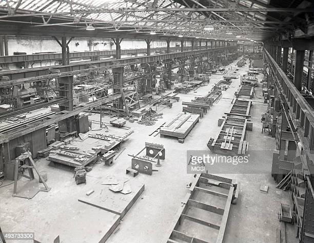 Works photograph of interior view of the tender shop 1959 circa 1959