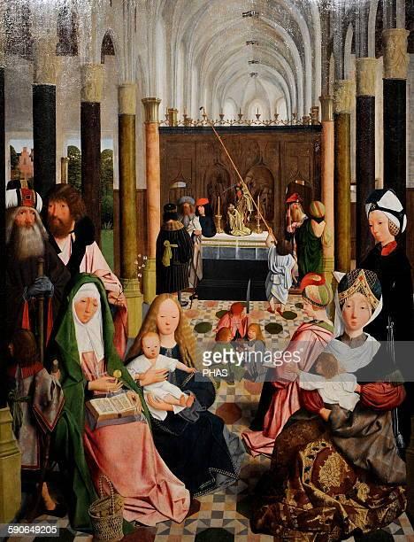 Workshop of Geertgen tot SintJans The Holy Kinship c 1495 Rijksmuseum Amsterdam Holland