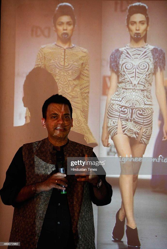 Workshop On Fashion Designing By Fashion Designer Nachiket Barve News Photo Getty Images