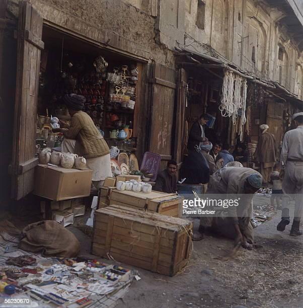 Workshops in Kabul . October-November 1970. PB-1012-2.