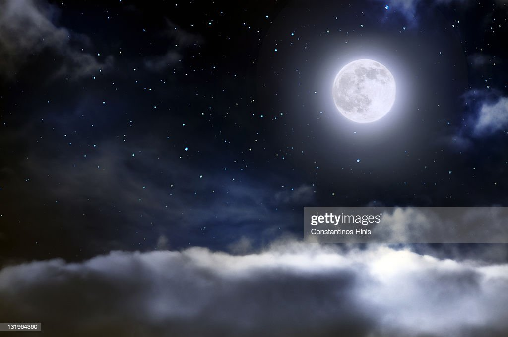 World above clouds : Stock Photo