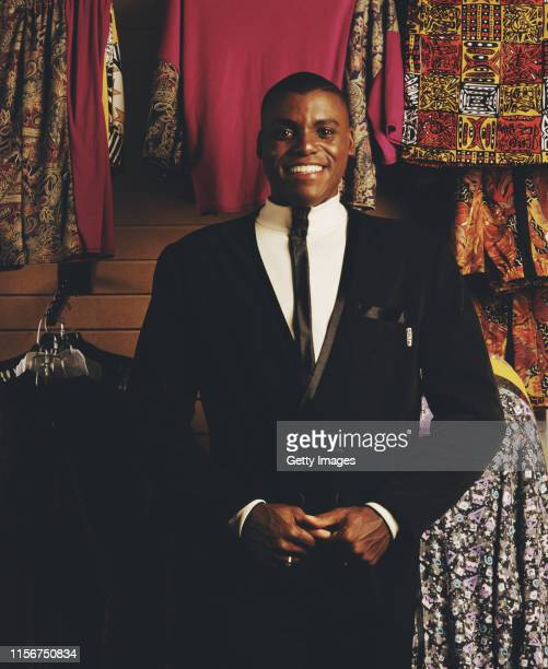 World and Olympic athletics champion Carl Lewis of the United States poses for a portrait circa 1993 in Los Angeles, California, United States.
