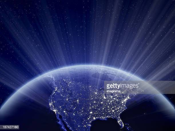 World at Night - North America