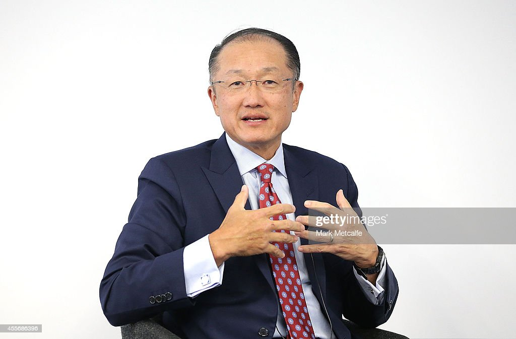 World Bank Group President Jim Yong Kim Attends Q&A In Sydney