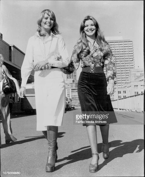World Beauties Return -- Miss World, Belinda Green who won both the Miss World and Miss Australia titles in 1972 and Paula Whitehead, Miss...