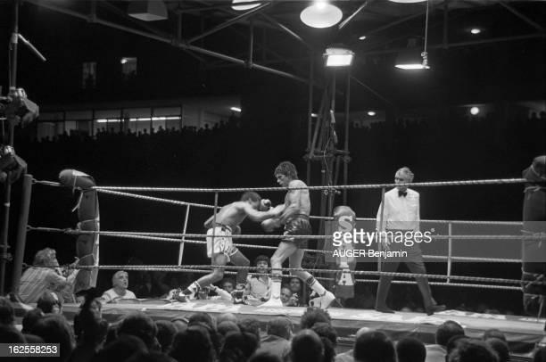 Carlos Monzon Beat Valdez Rodrigo Monaco 30 juillet 1977 le boxeur argentin Carlos MONZON défend pour la 14e fois son titre de champion du monde WBA...